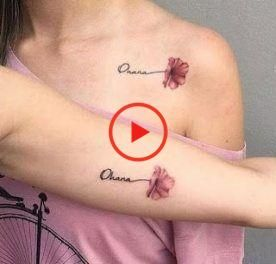 33+ Trendy Tattoo Mother Daughter Symbol Flower