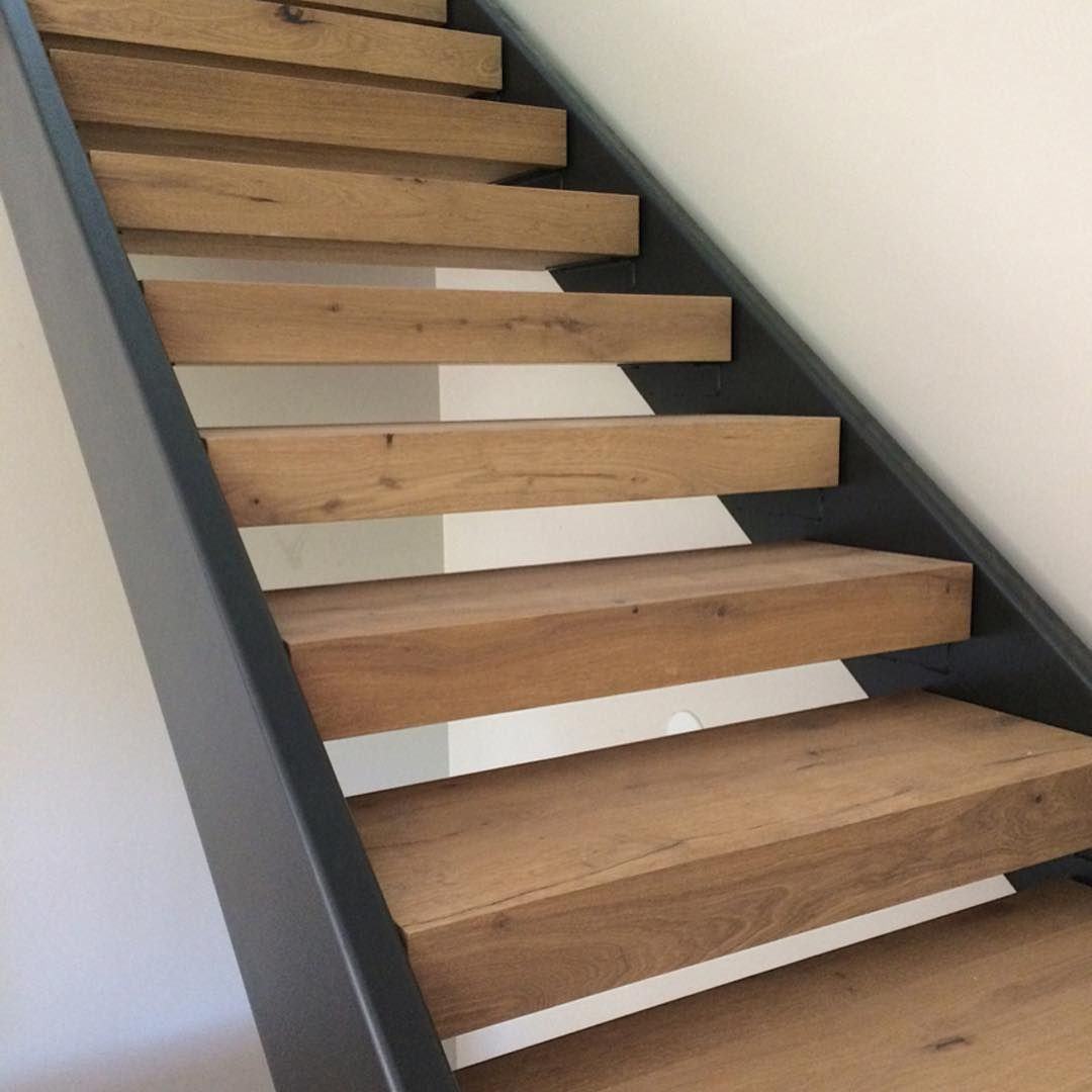 Superbe Oak Wood Stairs Finished With WOCA Master Oil In Natural. VOC Free,  Natural, Plant Based Finish For Wood Floors.