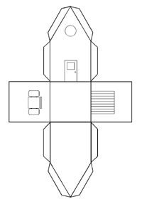 r sultat de recherche d 39 images pour patron maison en papier patrons pinterest patron. Black Bedroom Furniture Sets. Home Design Ideas