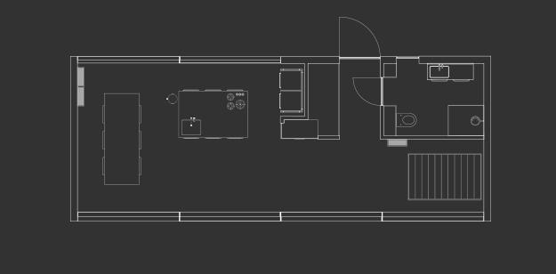 Backyard Cottage Prefab Design House Plan Affordable: Vipp Shelter Floor Plan