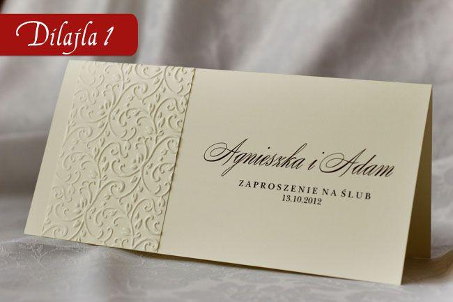 Zaproszenia Slubne Na Slub Eleganckie Wytlaczane 2264558871 Oficjalne Archiwum Allegro Place Card Holders Amelia Wedding Place Cards