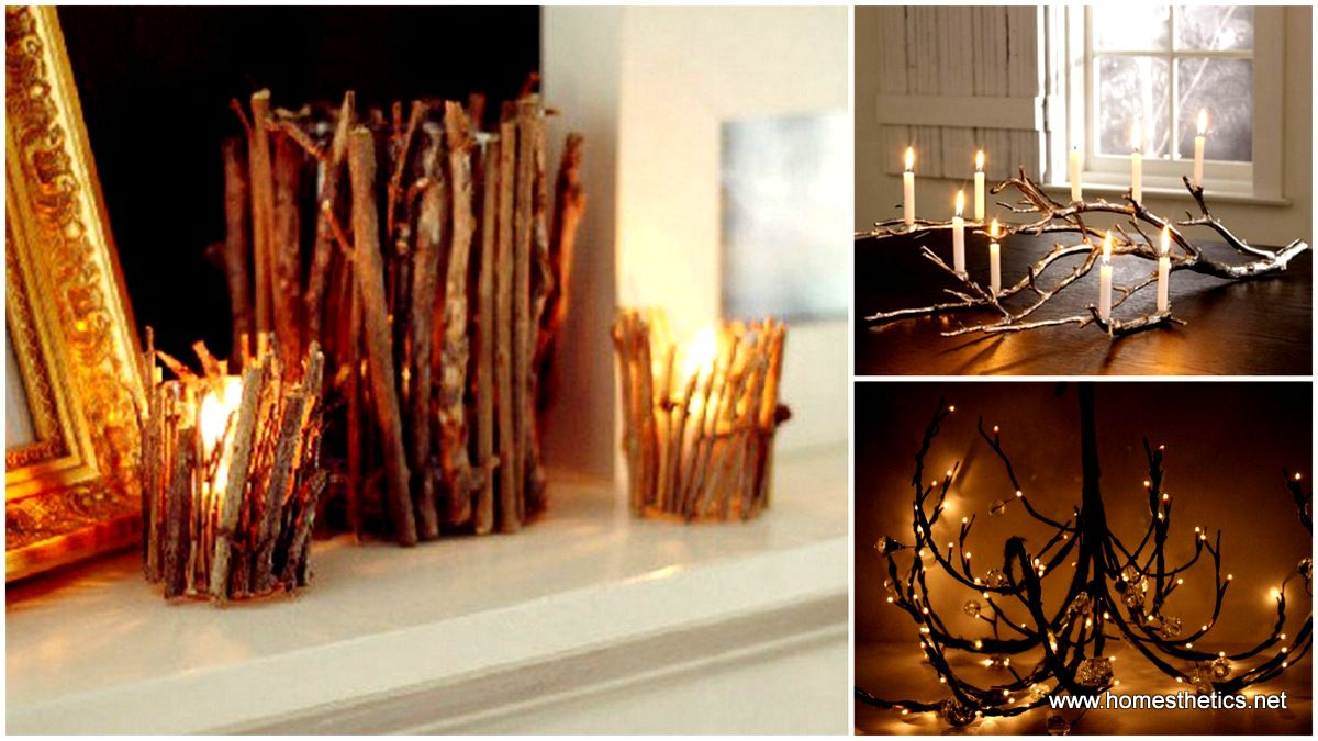 20 Insanely Inventive DIY Branches Crafts Meant To Sensibilize Your Decor