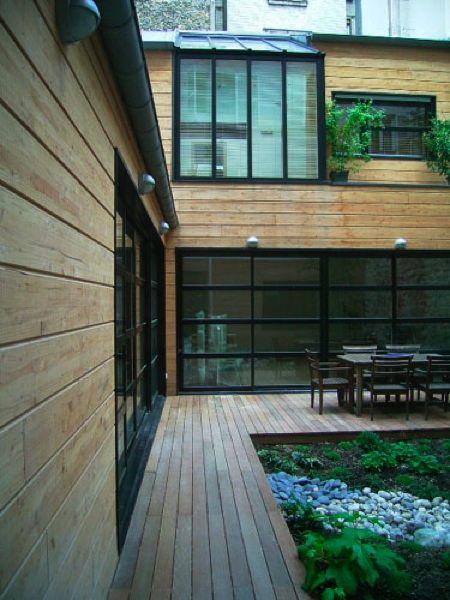 Maison loft bois patrick joubard house details for Fenetre sur pacifique
