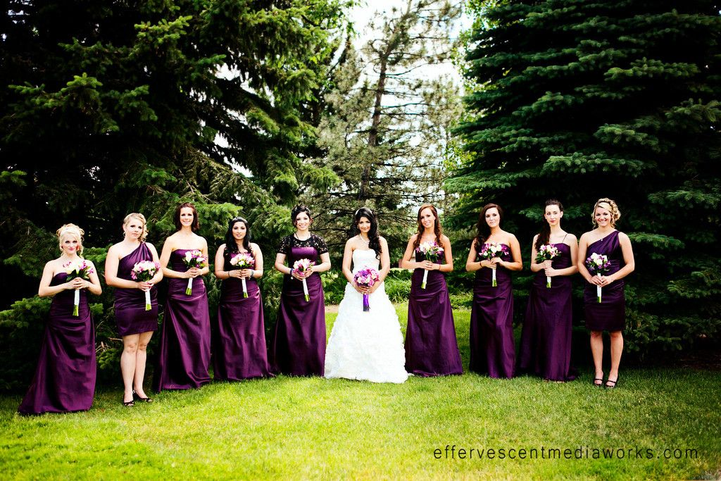 Utah Wedding Photography Bridal Party Photography by