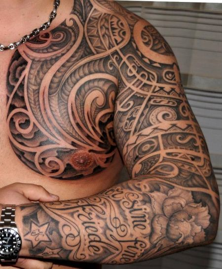 Tattoo Foto Mix Aus 3 Arten Polynesian Tattoos Pinterest