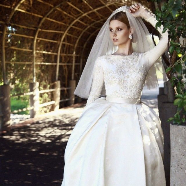 Chana Marelus Couture Bridal #tznius - If you find your perfect ...