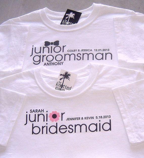 e1085bedb4c47 Classic Junior Groomsman Bow Tie and Junior Bridesmaid Flower ...