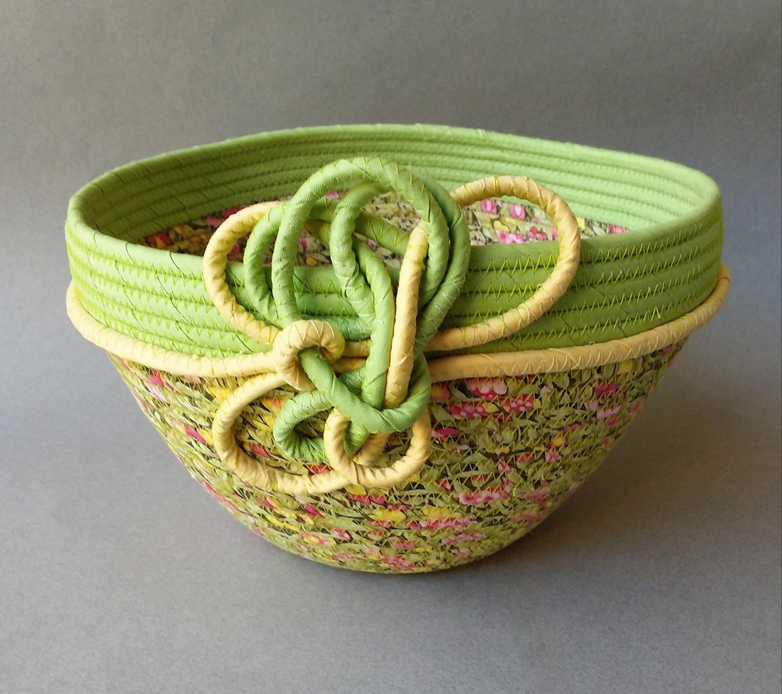 Clothesline basket spring garden etsy clothesline