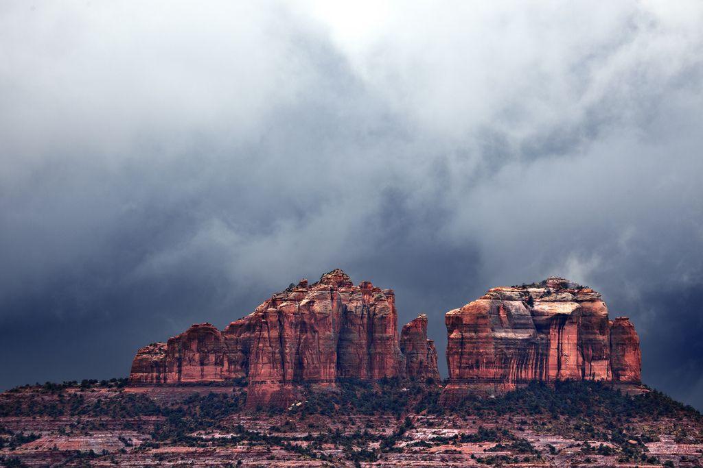 Sedona Storm (by Mitch Seaver)