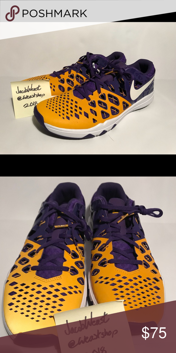 new product 58891 d277b ... coupon nike lsu free trainer mens size 7.5 us new new with out box. nike