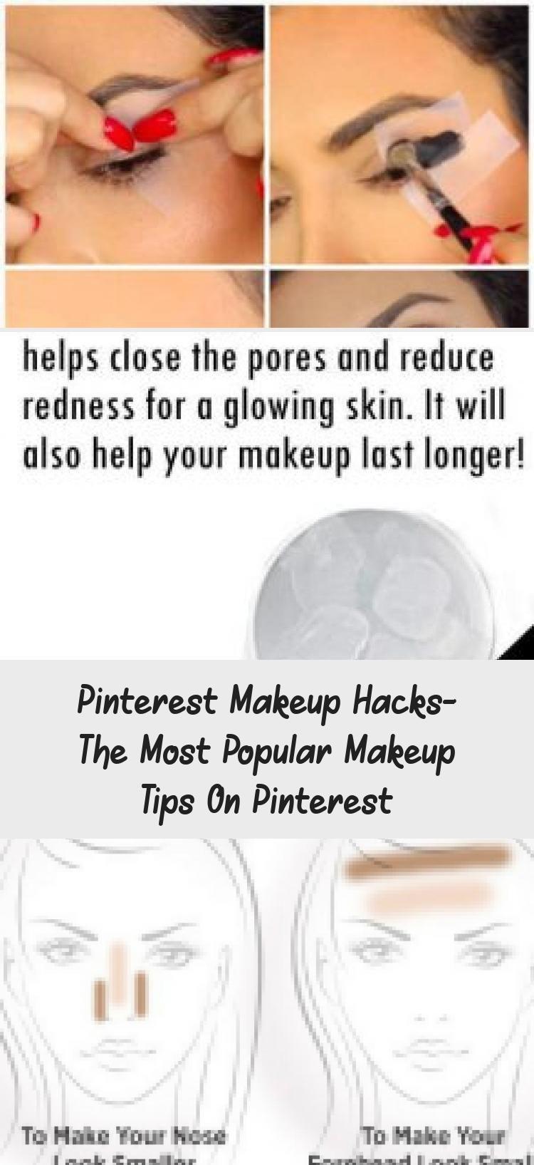 Photo of Pinterest Makeup Hacks- The Most Popular Makeup Tips On Pinterest – MAKEUP