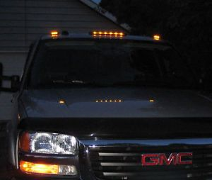 2007 2015 Gmc Sierra Led Smoke Cab Roof Running Lights Dually Truck 3 Set Denali Ebay Gmc Sierra Dually Trucks Trucks