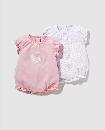 Pack pijamas de bebé niña Cotton Juice surtidos  368c9e5b8