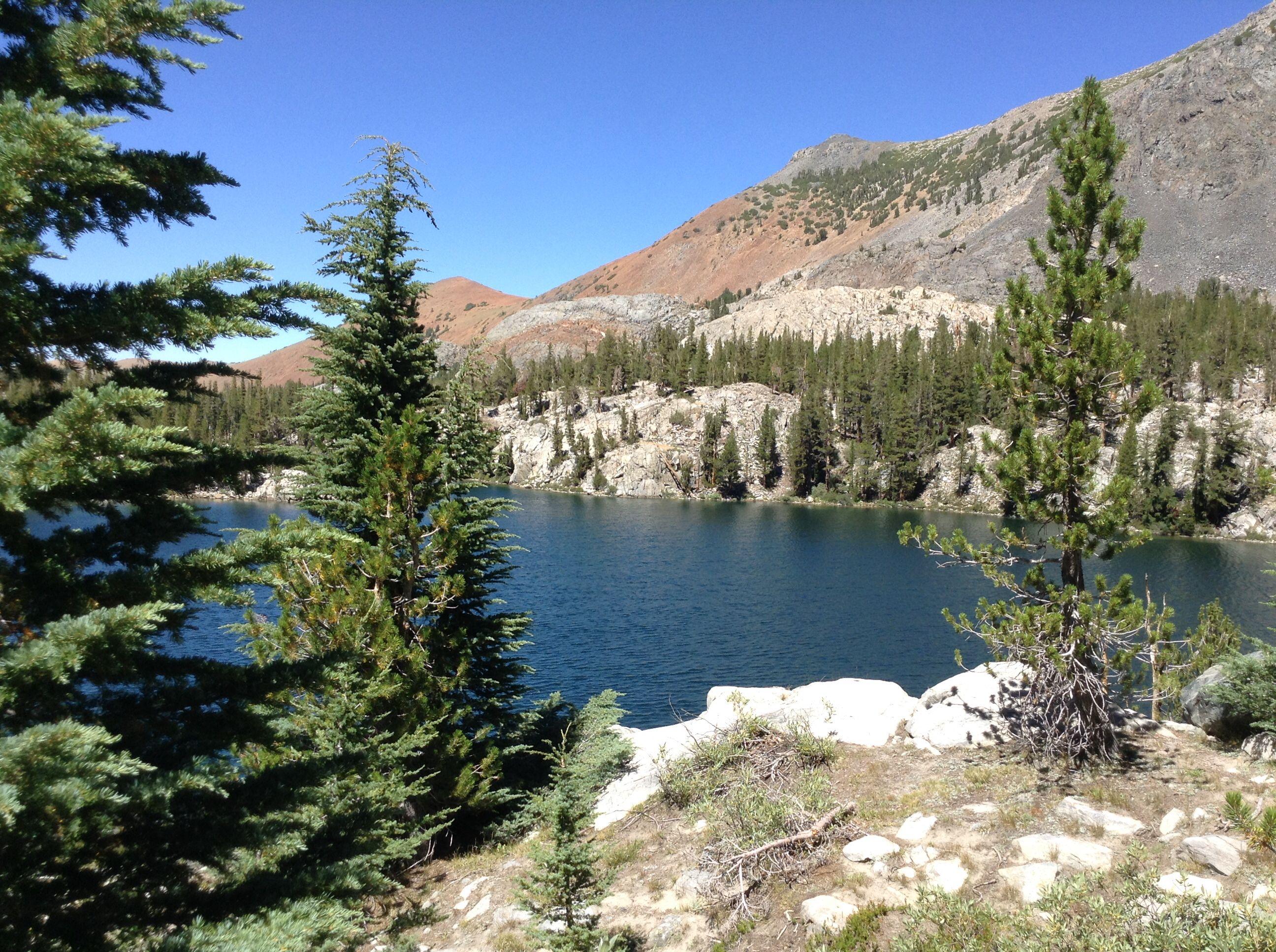 emerald lake mammoth mountain ca elevation 10 400 ft mammoth