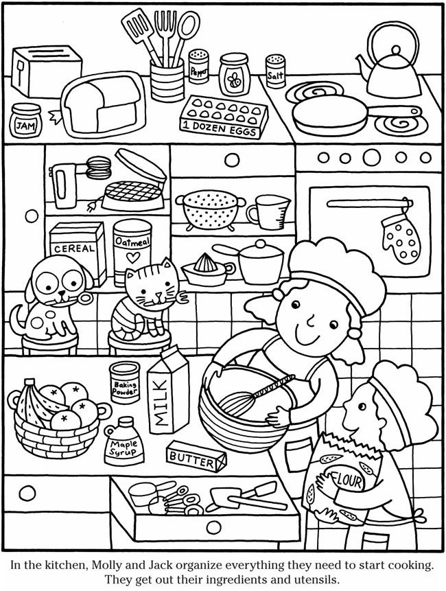 - Color It Cooking 2 Coloring Books, Coloring Book Pages, Coloring Pages