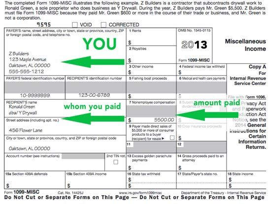 Tax Tips For Authors When And How To Fill Out The 1099 Writing