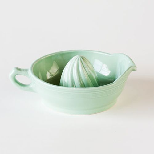 Retro Mint Green Juicer | dotandbo.com