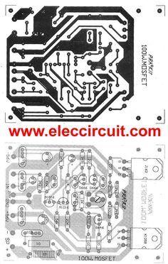 100 watt DC servo amplifier circuit by Power MOSFET | Idei de