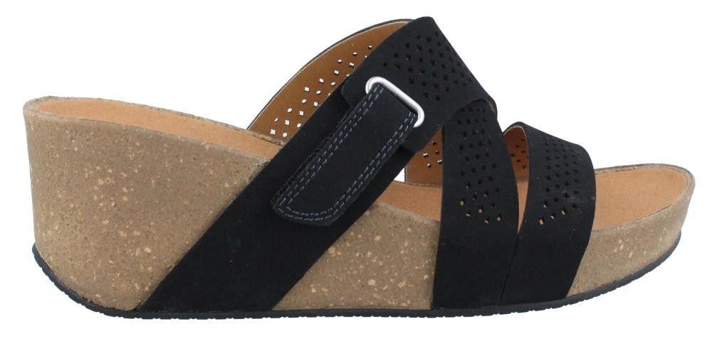 Womens Sandals Clarks Auriel Bright Black
