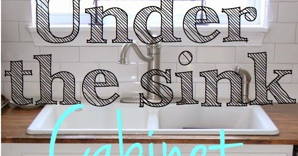 How to repair a water damaged sink cabinet The problem ...