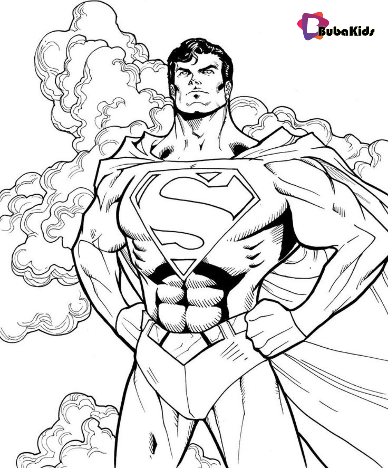 Printable Superman Coloring Pages Idea on bubakids.com ...