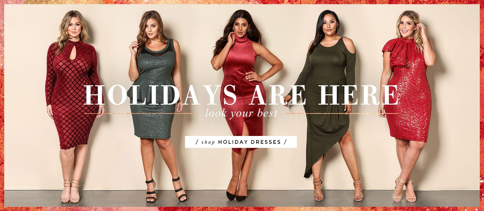 Plus Size Dresses Banner Pinterest Size Clothing