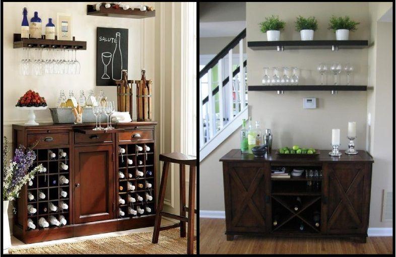 Ideias De Sala De Estar Com Barzinho ~ Barzinho em casa comoda  Home Bar  Pinterest  Bar em casa, Bar e Em