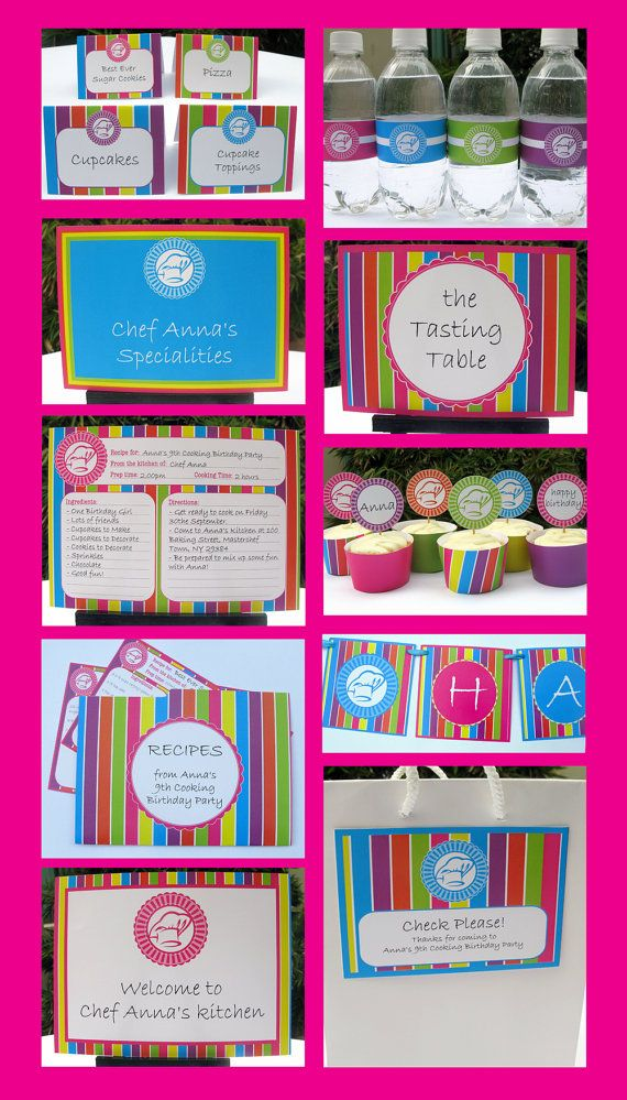 Cooking Party Invitations & Decorations - Top Chef - full ...
