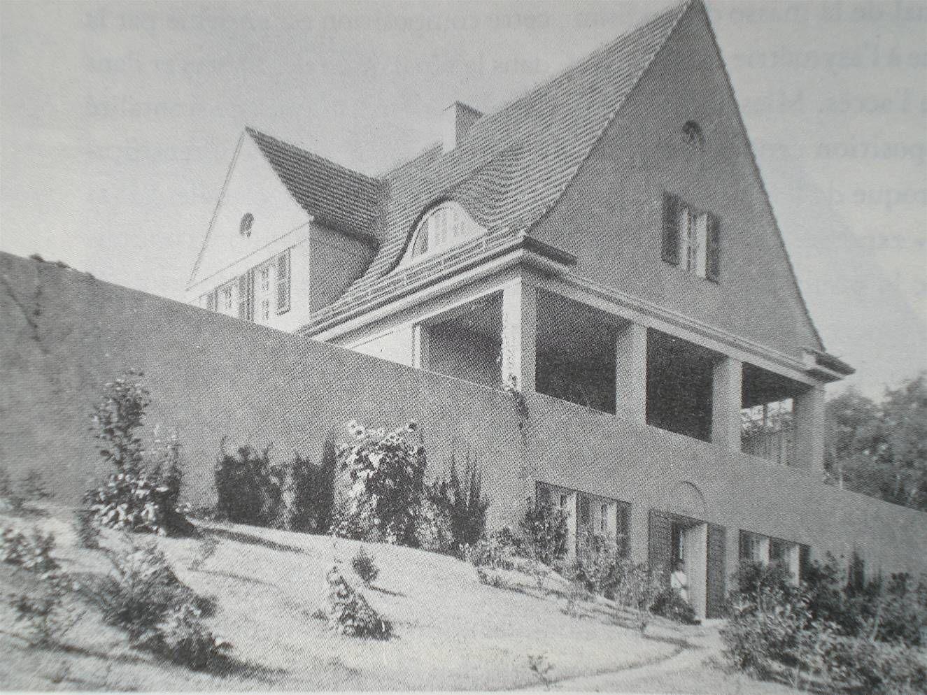 l mies van der rohe maison alois riehl berlin 1907 allemagne 1900 pinterest ludwig mies. Black Bedroom Furniture Sets. Home Design Ideas