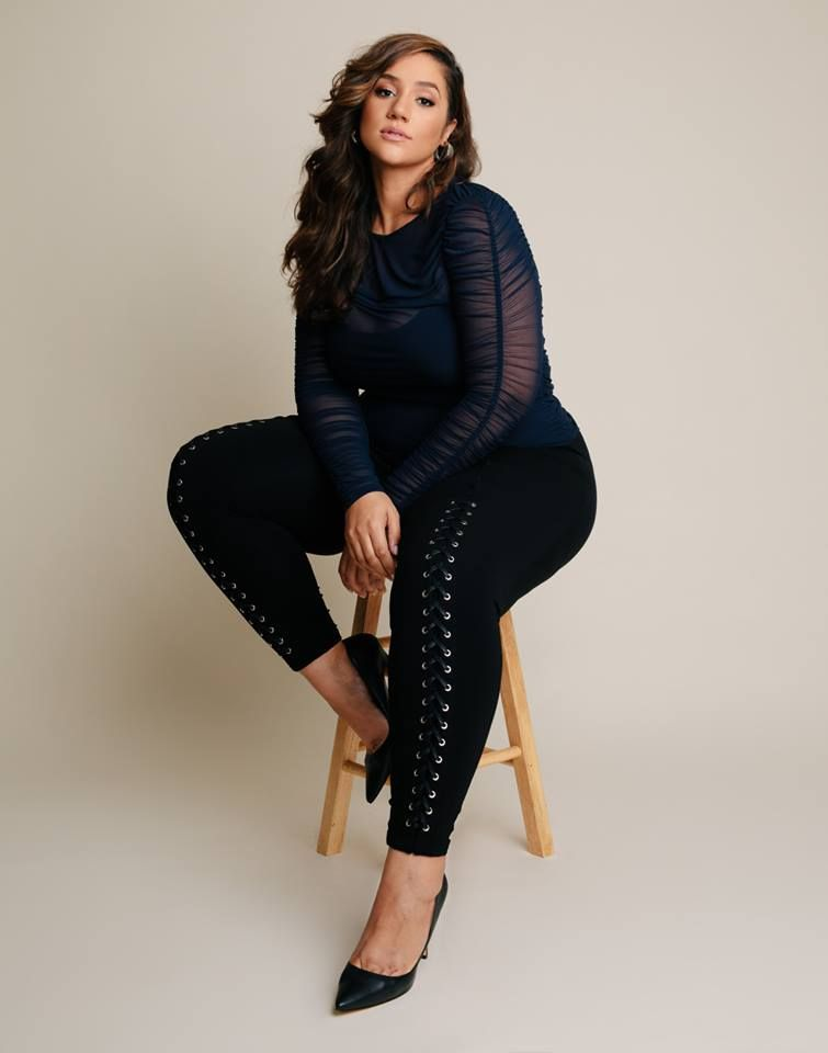 e264537e879e5 Good Form Lace-Up Ponte Pants in 2019   Erica Lauren   Erica lauren ...