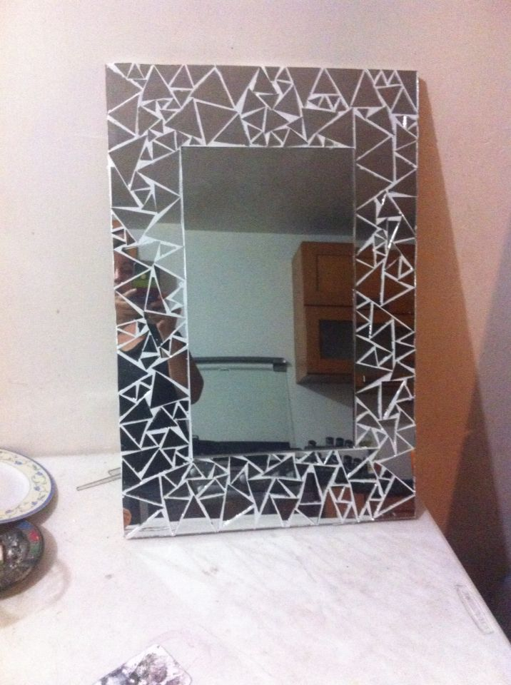 Espejo mosaico   Espejos   Pinterest   Mosaic mirrors and Mosaics