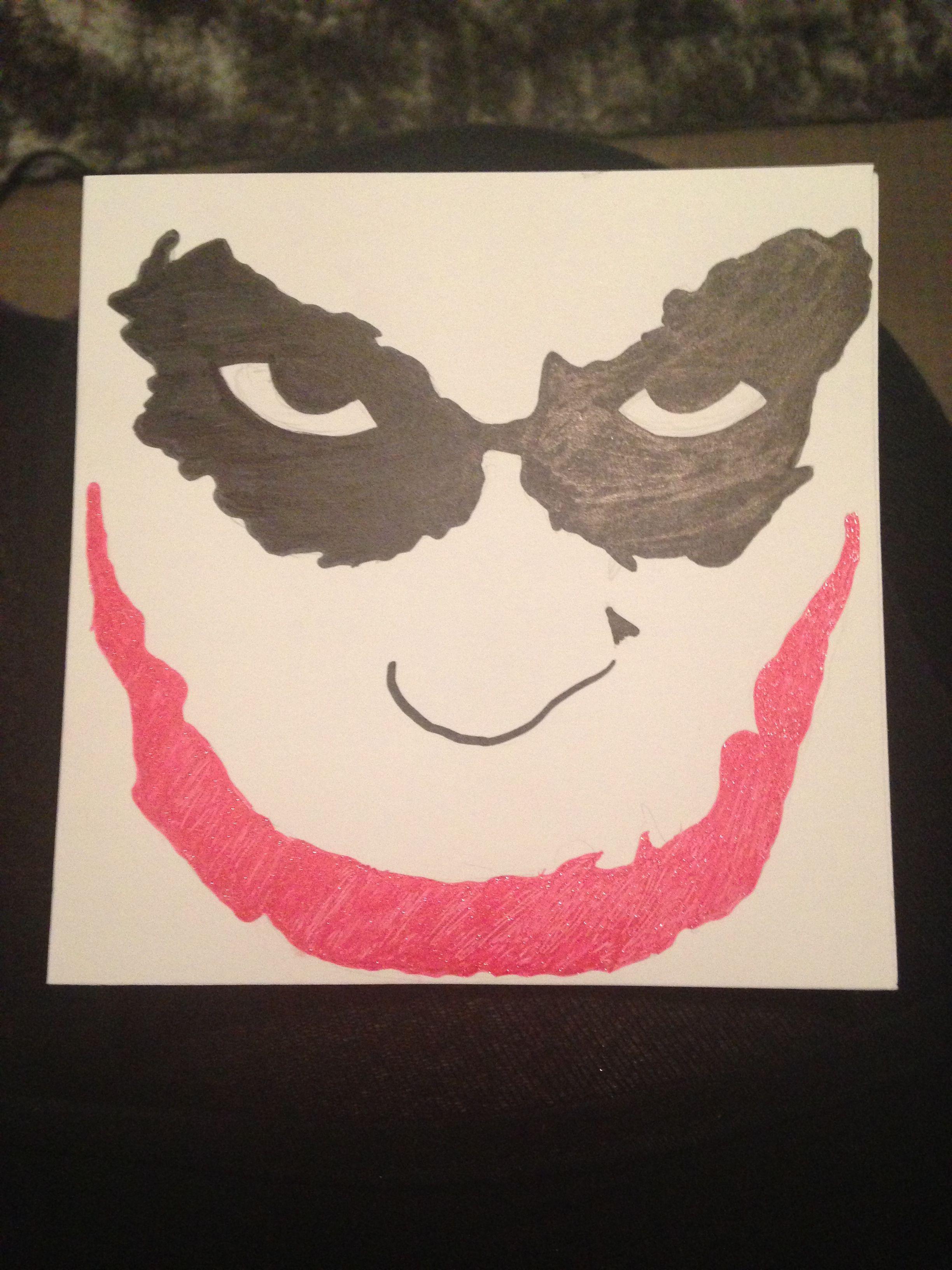 The Joker Birthday Card Jujus bday ideas Pinterest Joker