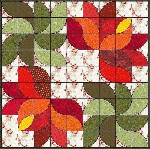 Lotus Patchwork graphics - Ge Ruisi Patchwork Workshop - Yahoo! Kimo Blog