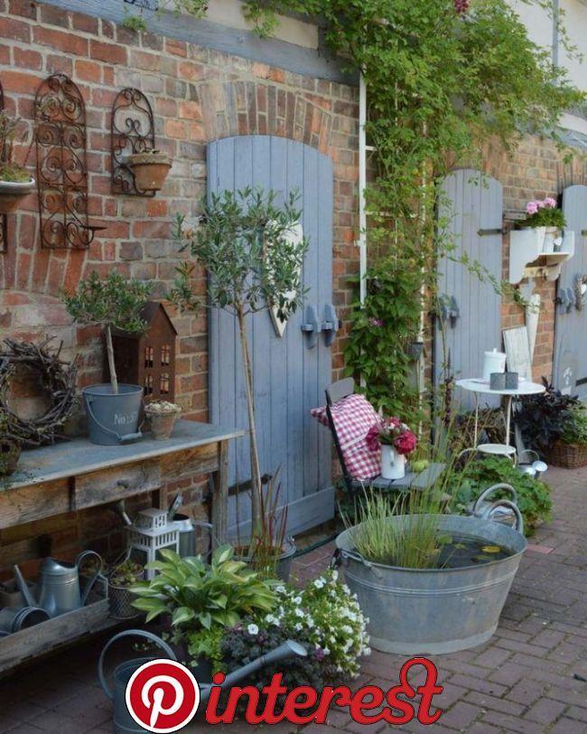 Gartendekoration in 2020 Garten, Gartengestaltung ideen