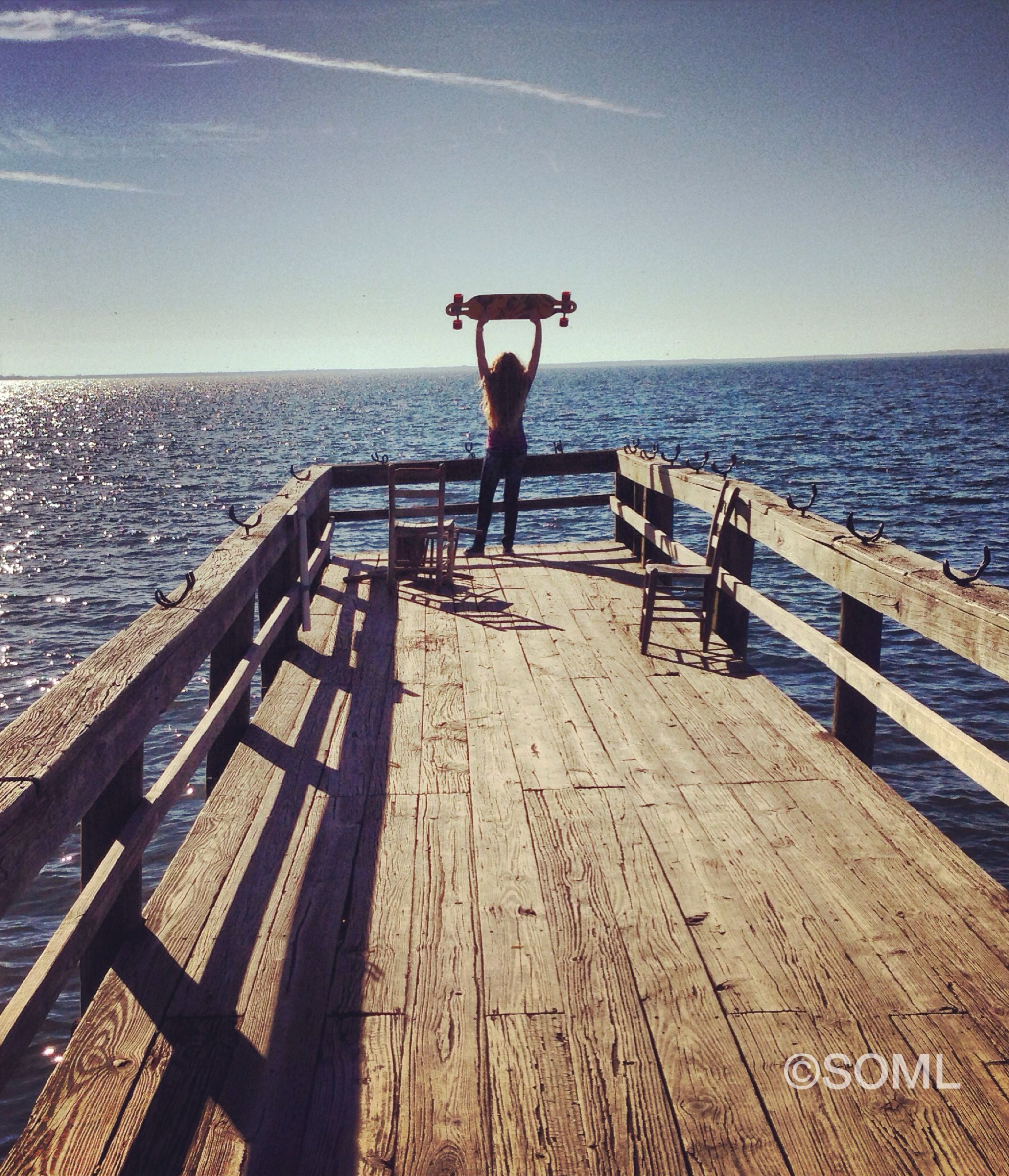 Longboarding Photography Ocean