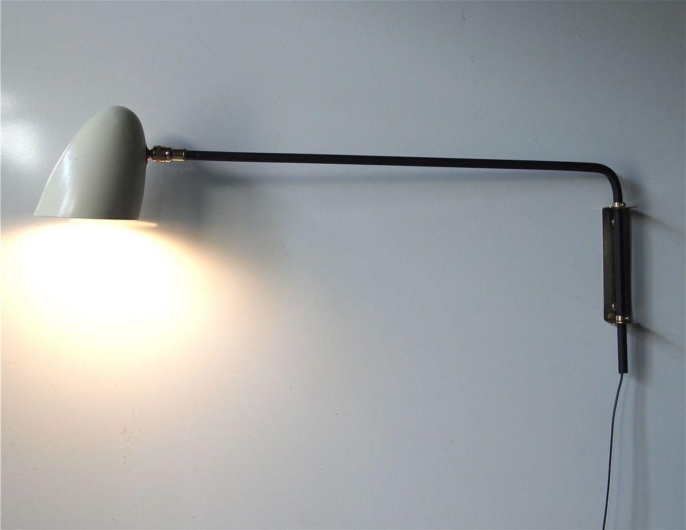 Applique lampe light 50 luminaire 1950 vintage lumière pinterest