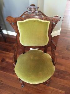 Vintage Victorian Arm Chairs Ottawa Gatineau Area