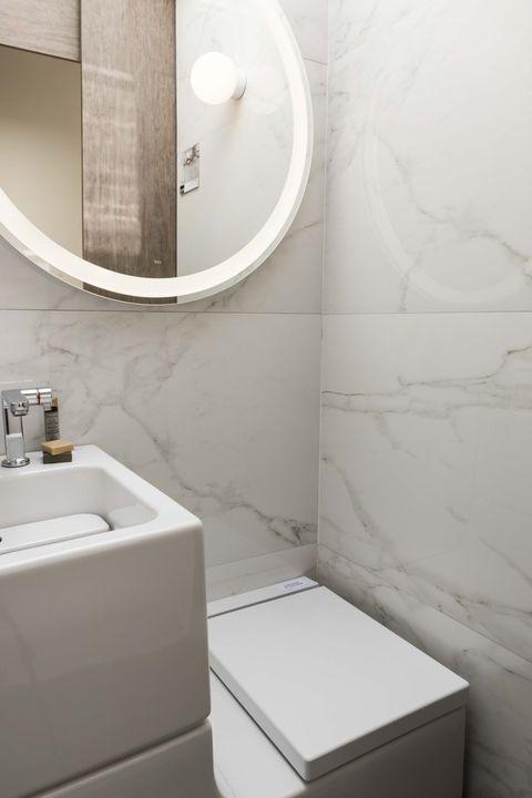 15 m2 llenos de estilo e ingenio | Mini piso, Espejo ...
