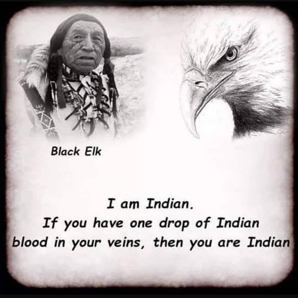 Jim Crow-Feather (racism against 'black' Native Americans)