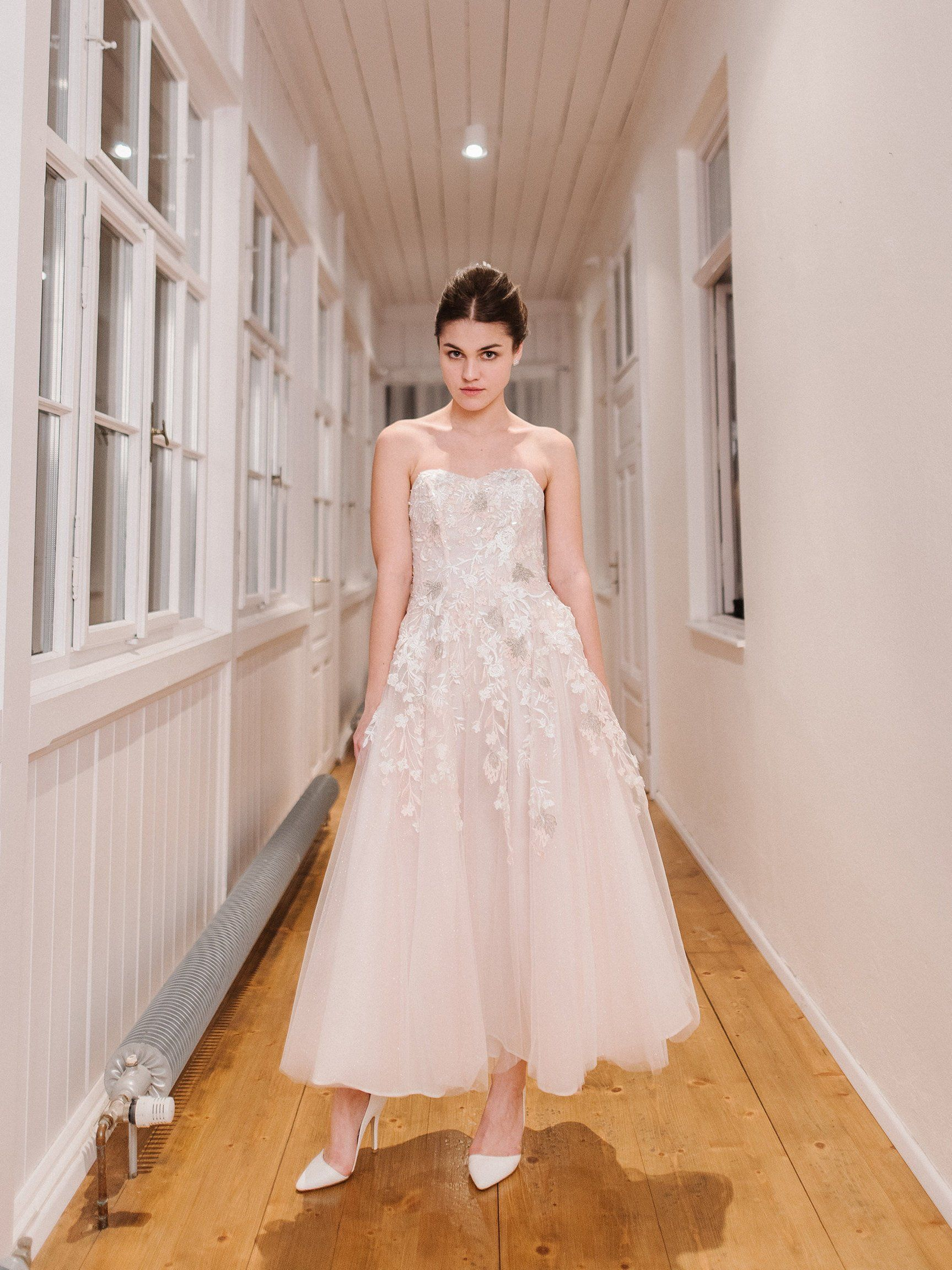 SAMPLE SALE!!! Nontraditional wedding dress with