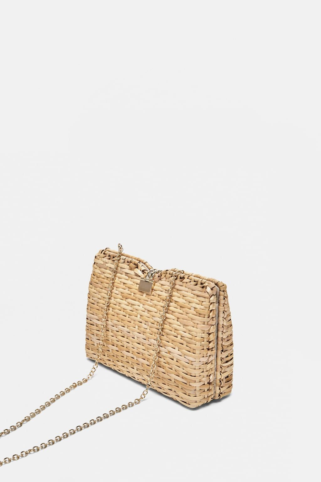 Image 4 Of Minaudi 200 Re Bag With Braided Handle From Zara