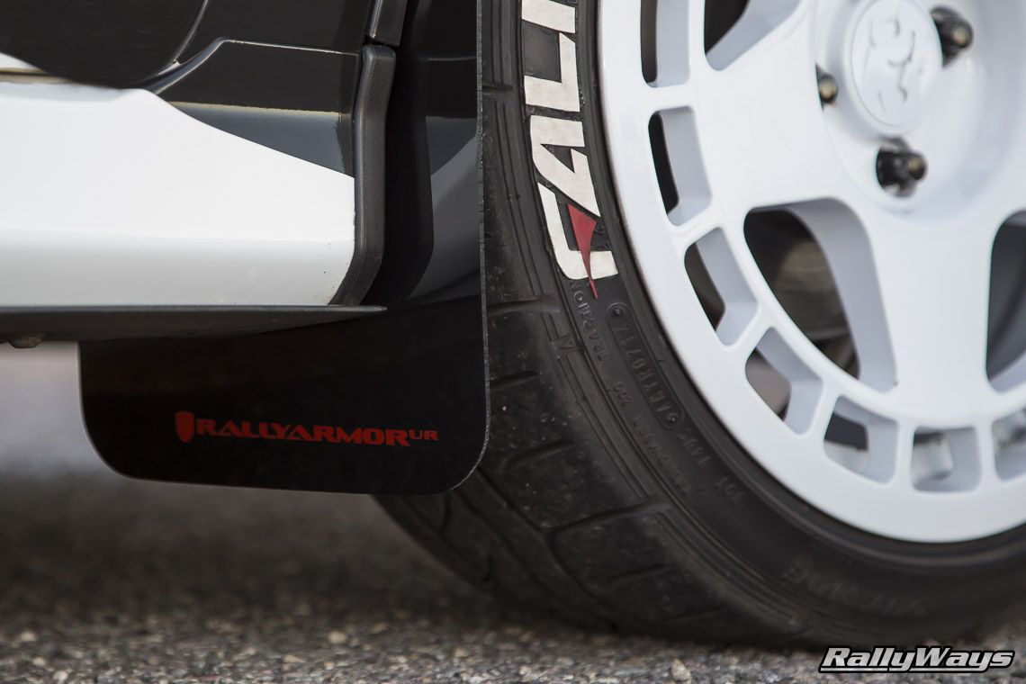 The Rally Armor Fiesta St Mud Flaps Made Their Way To The Rallyways Ford Fiesta St