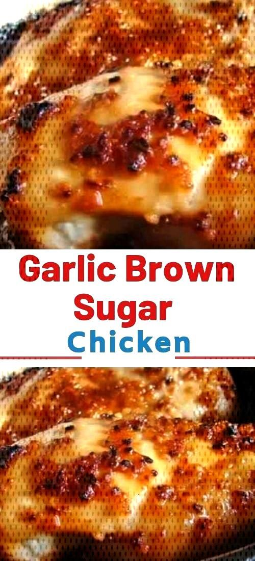 Garlic Brown Sugar Baked Chicken – Juicy, beyond DELICIOUS oven baked chicken ... - My Recipes -
