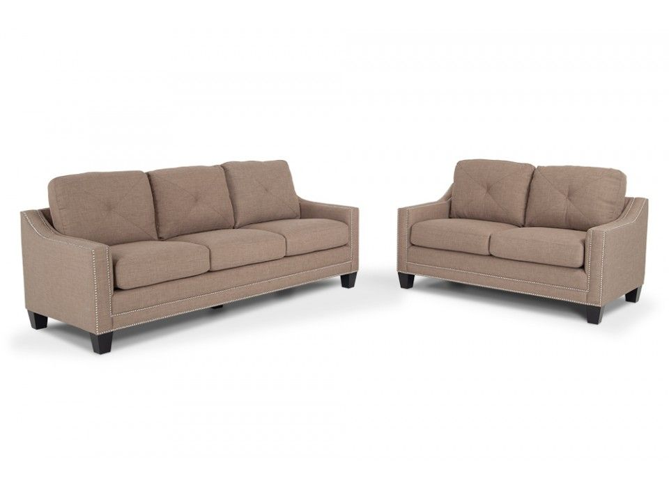Annie 90 Sofa Loveseat Living Room SetsLiving FurnitureDiscount FurnitureBob