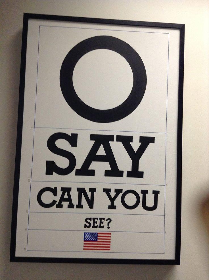 O Say Used Optometry Pinterest Optometry Optometry Office