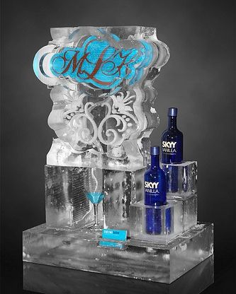 Wow But Would Have Flavored Vodkas Like Pinnacle Instead And Be Black Wedding Ice Sculpturessand