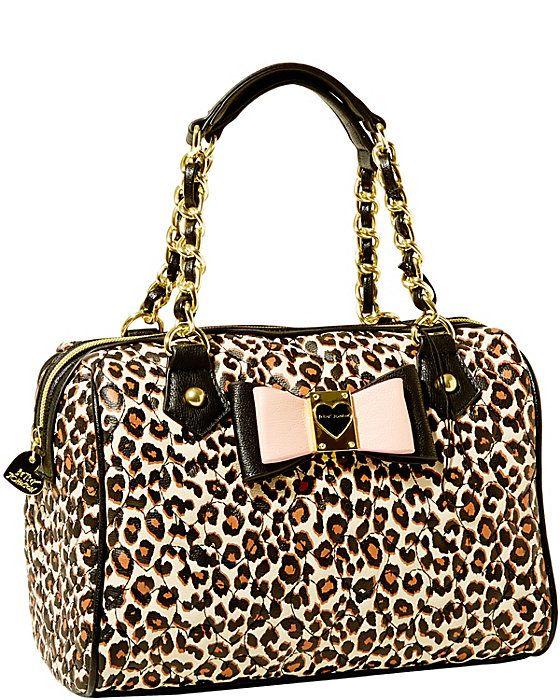 Betsey Johnson Leopard Bag Brand New Item Bags Shoulder