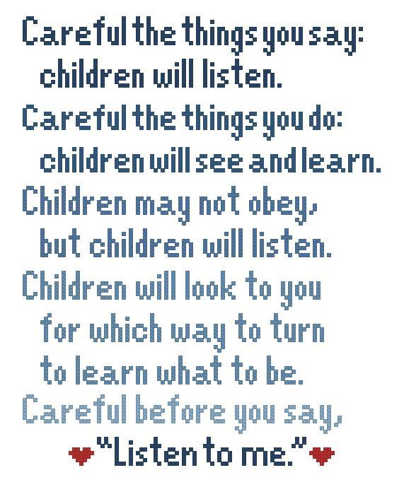 Into The Woods: Children Will Listen Sondheim Lyrics Cross Stitch Pattern Download by IStitchForTheUsers on Etsy https://www.etsy.com/listing/185333538/into-the-woods-children-will-listen