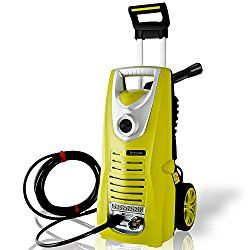 Serenelife Electric Pressure Washer Powerful Heavy Duty 1800psi Manual Adjustable High Low Cold Water Sprayer System Rolling Wheels Power Wash Spray Clean Concrete Driveway Car Home Slprwas46 Cleaning