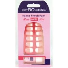 BadgeQuo 1079 Body Collection Natural French Pearl False Nails Petite